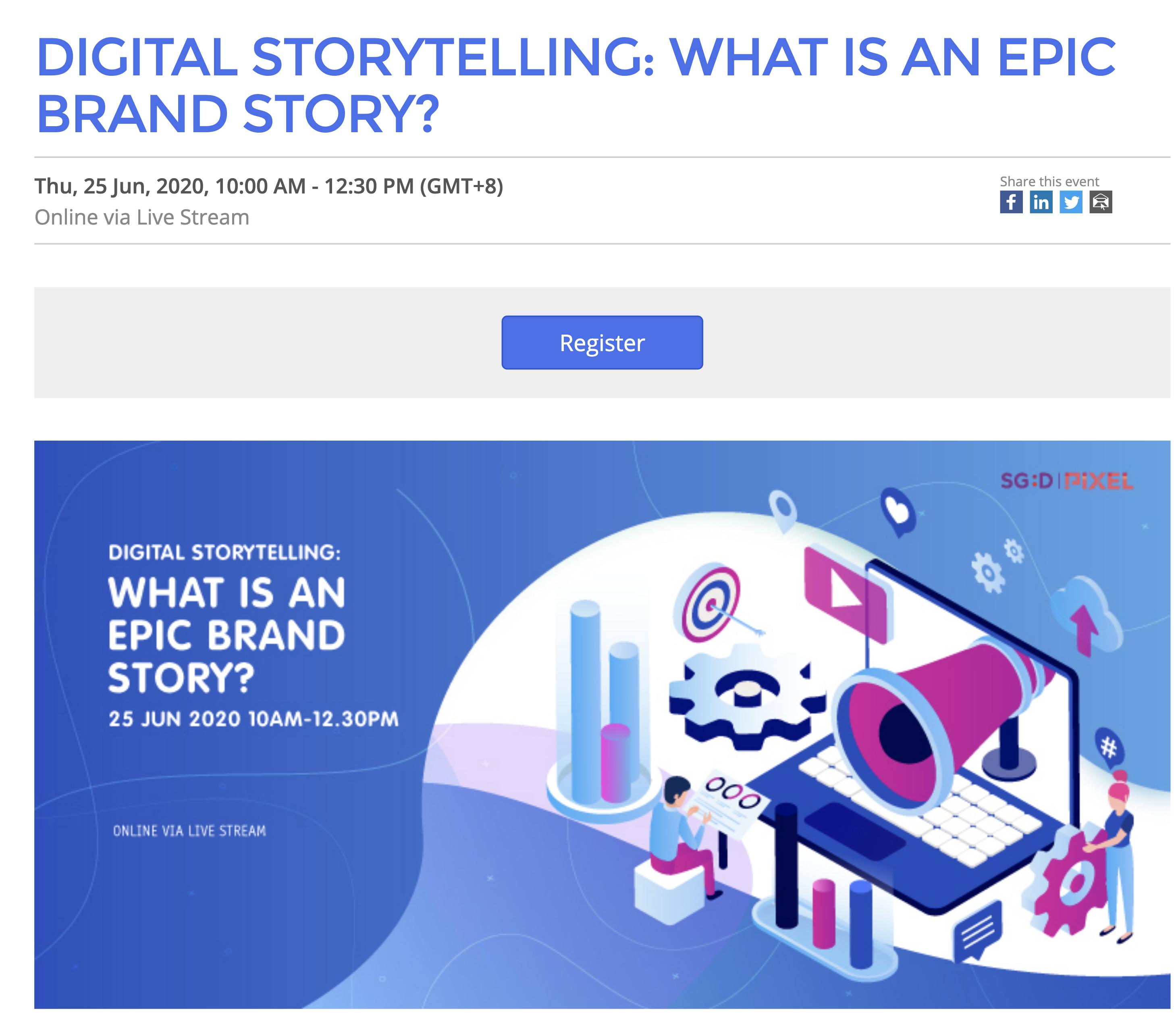 IMDA brand story telling