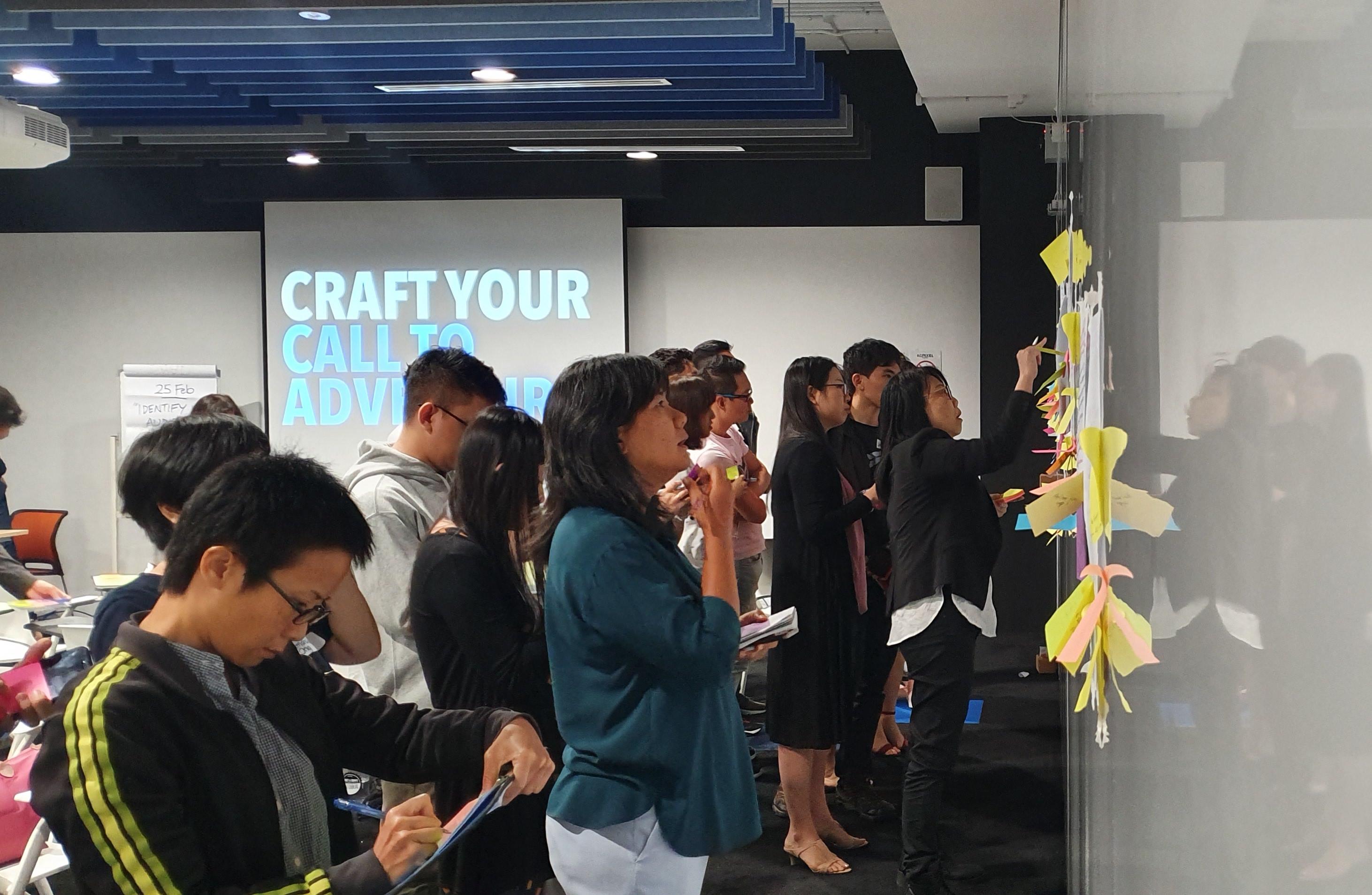 ellery ng animagine storify workshop brand story facilitation adult learning